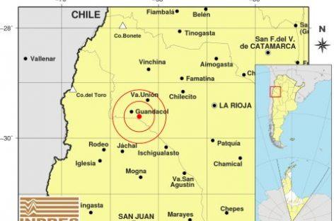 Dos sismos sacudieron La Rioja este sábado y domingo
