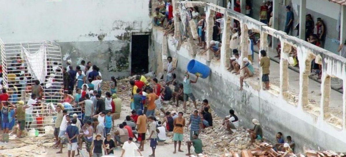 Dantesco. 52 muertos en un sangriento motín en una cárcel brasilera