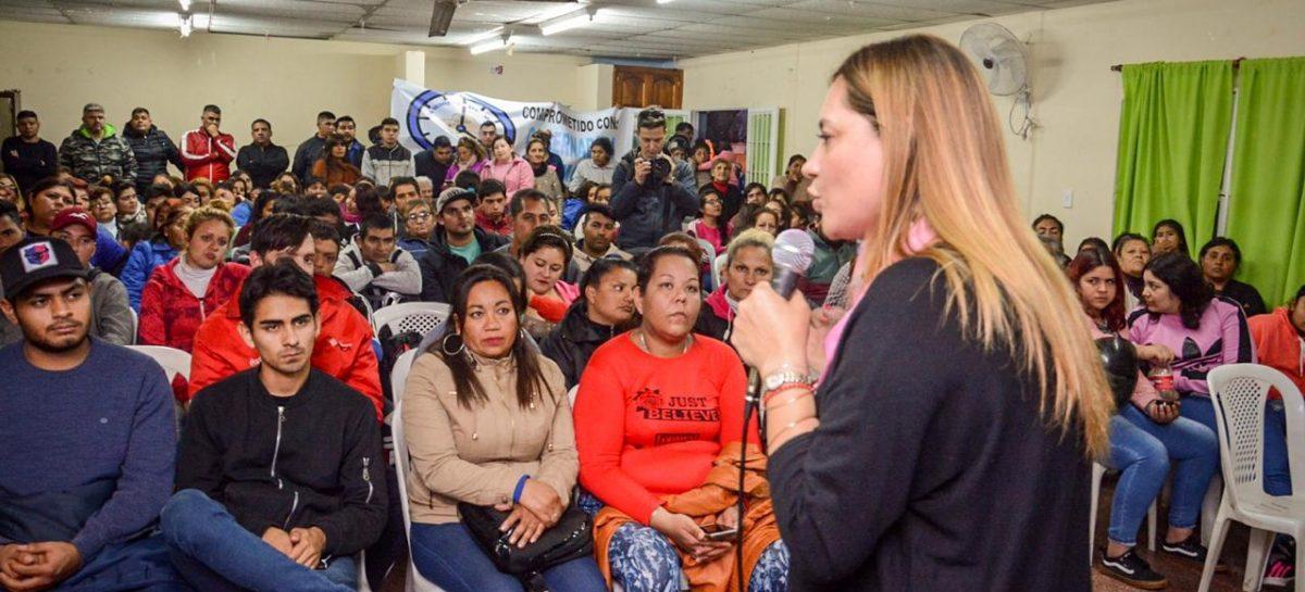Tere Madera con agenda en Capital e interior como precandidata a gobernadora