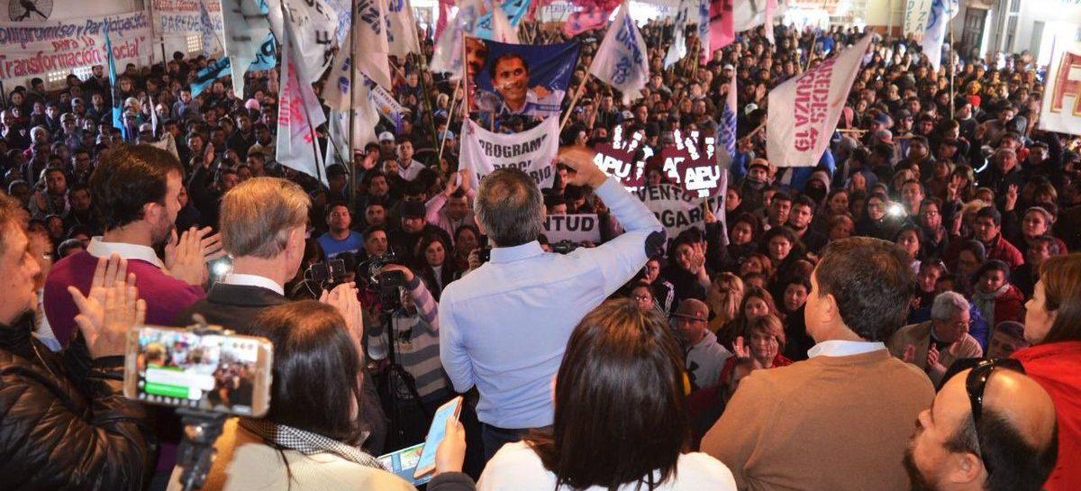 Paredes apeló el veto de la justicia para usar símbolos del PJ