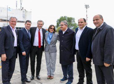 Sergio Casas se reunió con Alberto Fernandez, que confirmó visita a La Rioja