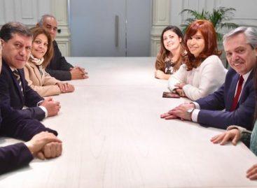 Alberto Fernández y CFK se reunieron con sus candidatos riojanos