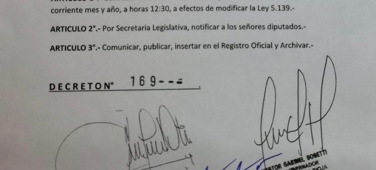 La Ley de Lemas copa la agenda política este miércoles
