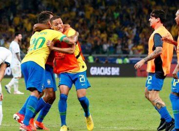 Copa América. La efectividad de Brasil eliminó a la garra Argentina