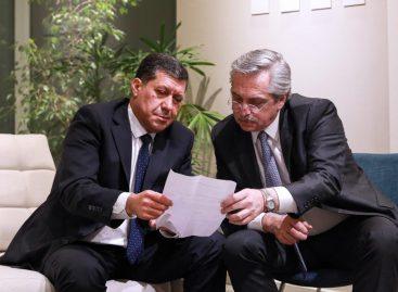 Sergio Casas se reunió con Alberto Fernández tras las PASO
