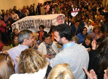 Paredes irrumpe de cara a las PASO en respaldo a Felipe Alvarez