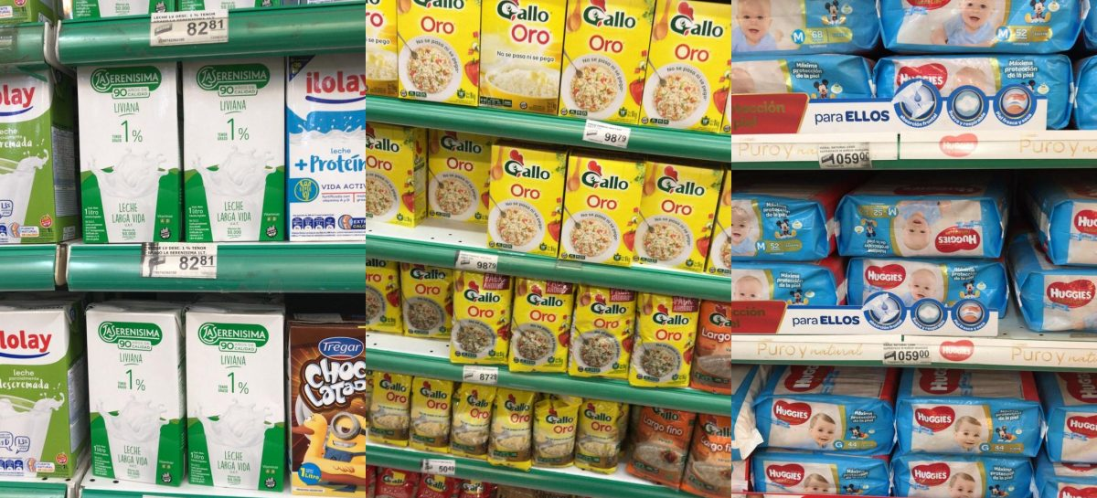 Efecto dólar. Subas de hasta 25% en los supermercados riojanos