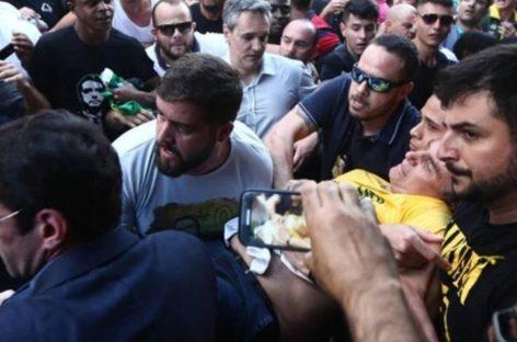 El presidente brasilero publicó imágenes inéditas de cuando fue apuñalado
