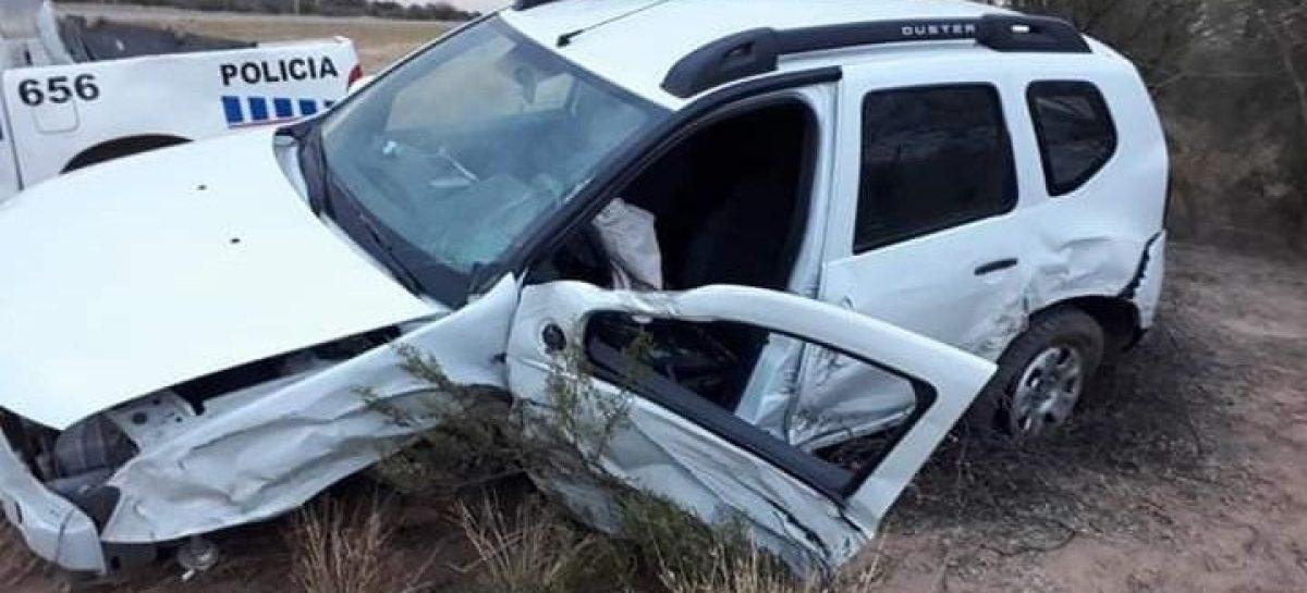 Grave accidente. Dos camionetas chocaron de frente en ruta 38