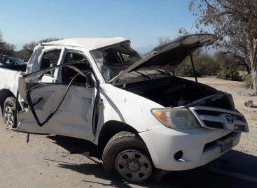 Brutal vuelco en el Oeste provincial: dos heridos