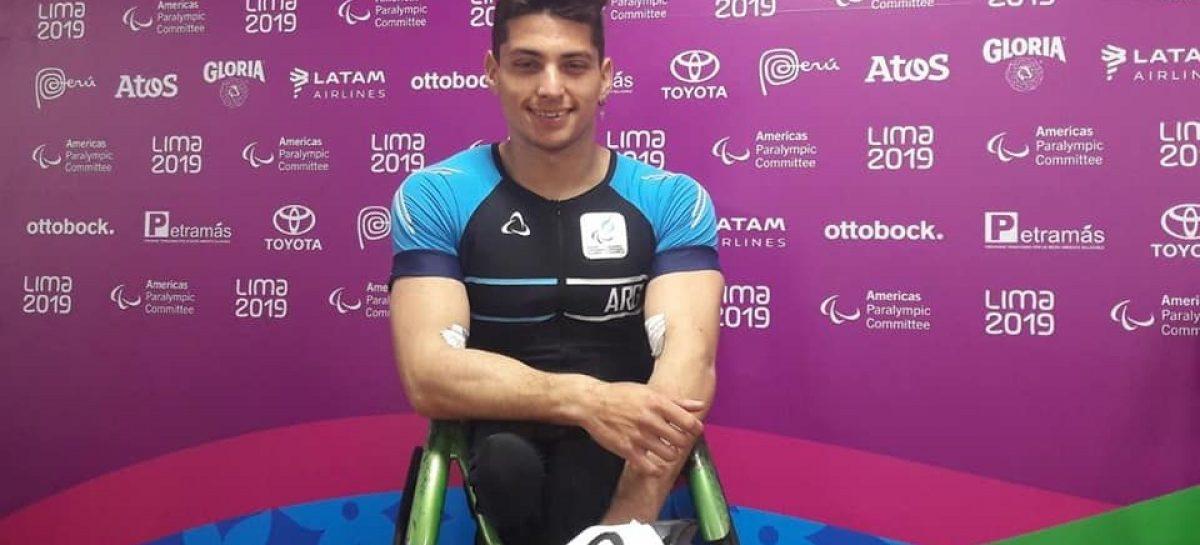 Orgullo. Un riojano logró una medalla en los Juegos Parapanamericanos