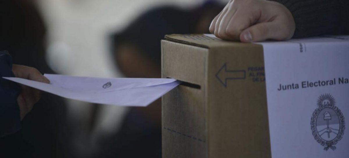 PASO. Votó 70% del padrón en La Rioja y a nivel país superó el 75%