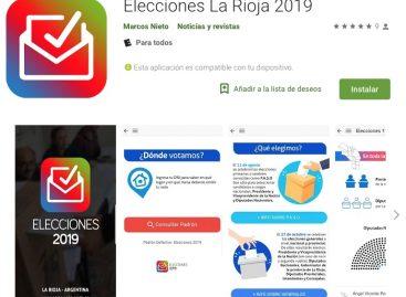 Felipe Alvarez lanzó la app 'Elecciones La Rioja 2019'