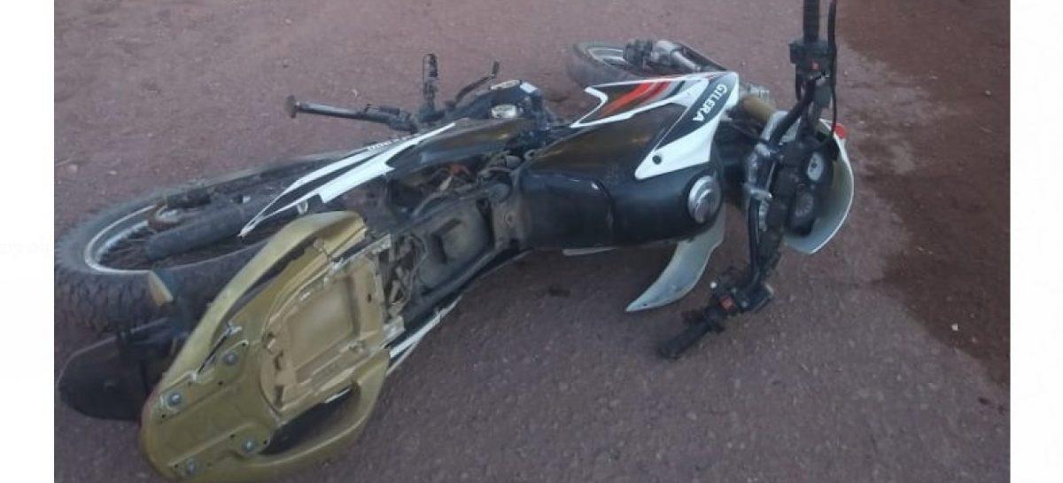 Un motociclista de 20 años perdió la vida en Chilecito