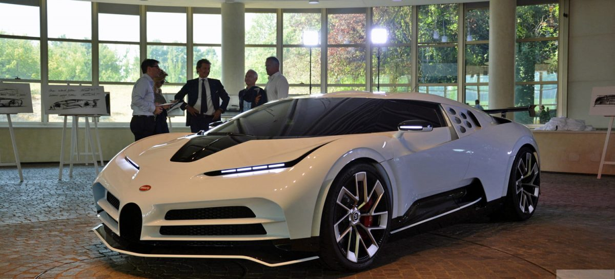 Bugatti CentoDieci, el auto que vale $500.000.000