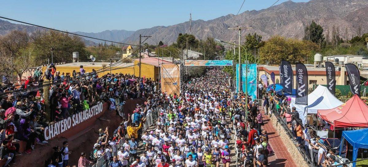 Masiva concurrencia en Sanagasta Corre: 6 mil participantes