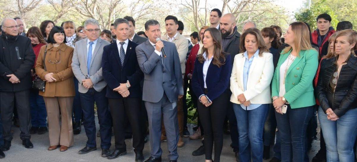 Casas comparó a La Rioja con la UNLaR por la falta de financiamiento nacional