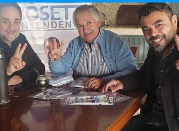 La fórmula gobernador – vice del oficialismo sumó el apoyo de Bosetti