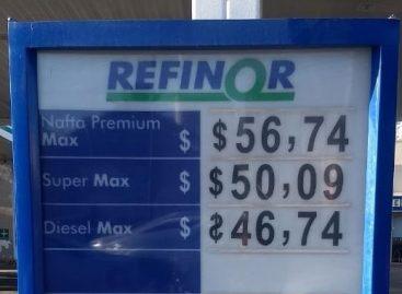 El litro de nafta super ya supera los $50 y la premium los $56 en La Rioja