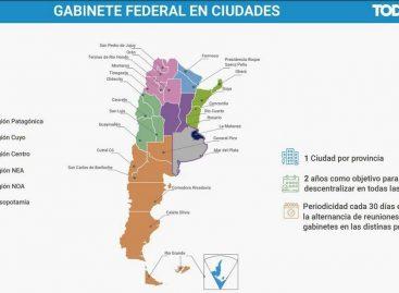 Alberto Fernández prometió llevar el Gabinete Federal a Chilecito