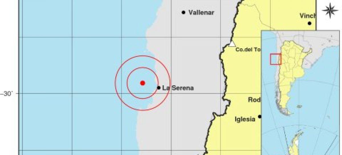 Sismo de 6.1 grados Ritcher en Chile repercutió en La Rioja
