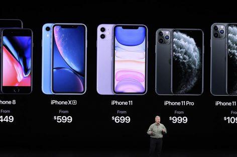 Se develó el Iphone 11, el 11 PRO y el PRO Max