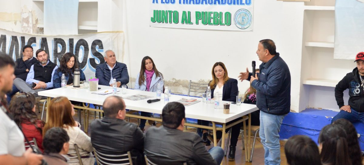Quintela y Madera prometieron trabajo conjunto entre provincia y Capital