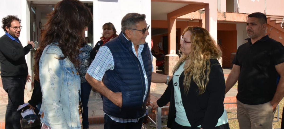 Beder Herrera hace foco en su campaña en los estatales