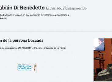 Nación se sumó a la búsqueda de Fabián Di Benedetto