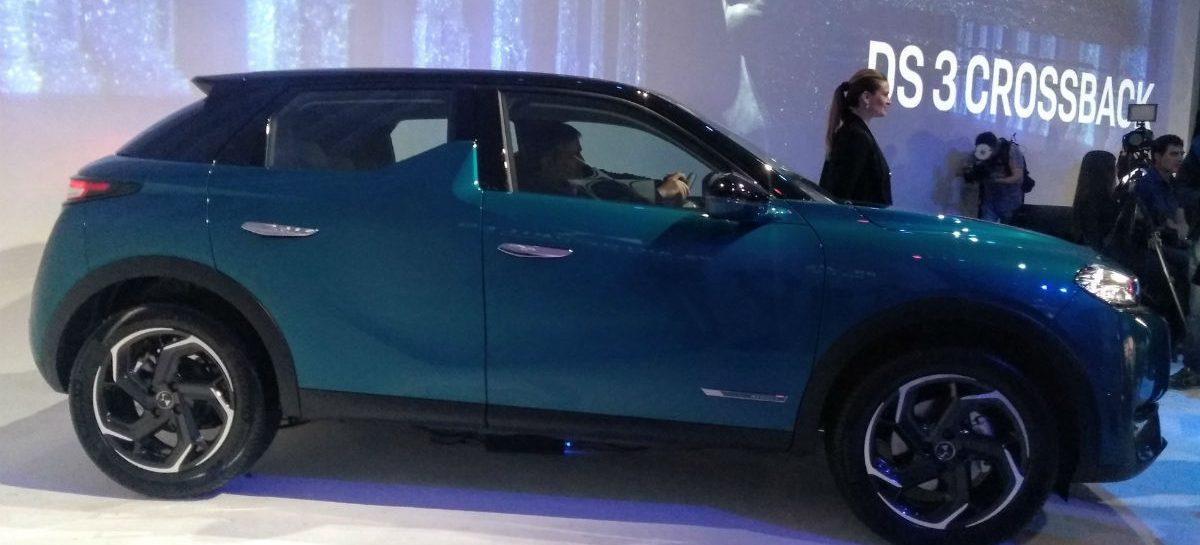 Se amplía oferta de las SUV premium: llega el nuevo DS3 Crossback