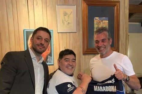 Maradona es el nuevo DT de Gimnasia de La Plata