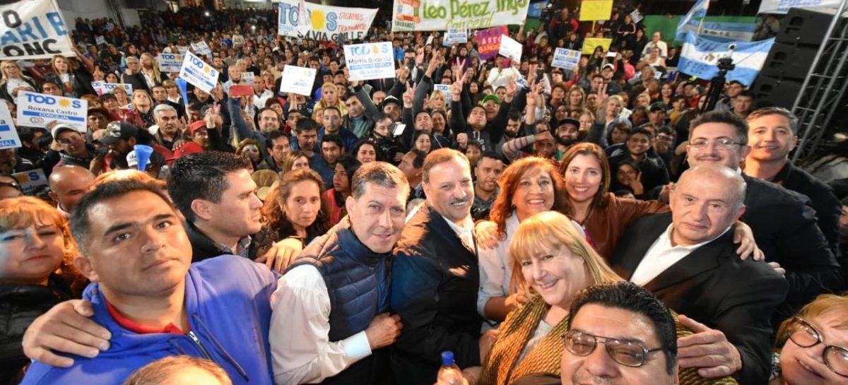 En Chilecito, Gaitán ratificó su compromiso con el Frente de Todos