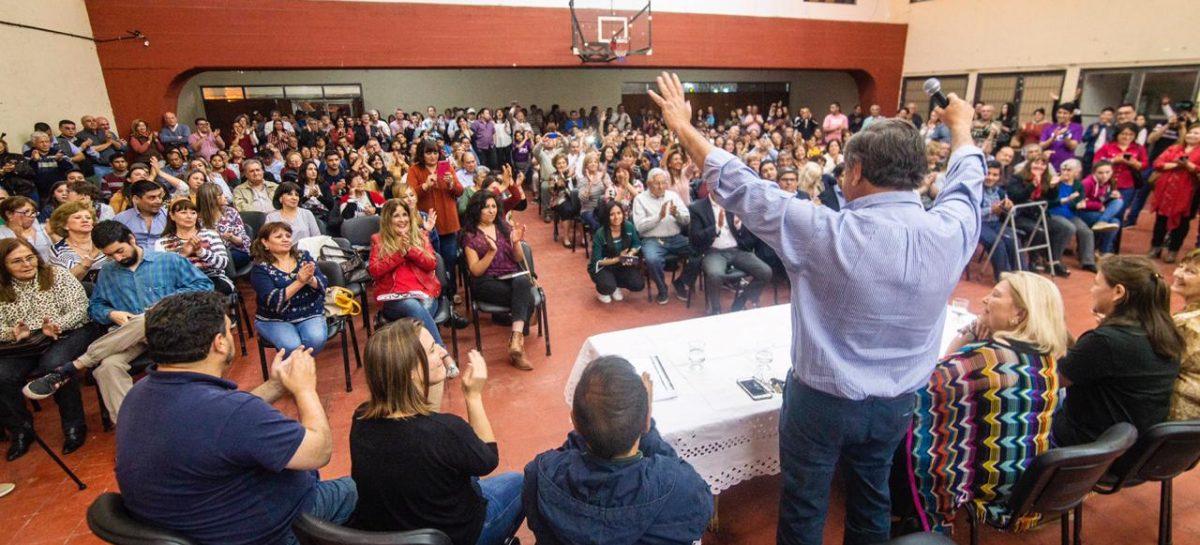 Elisa Carrió pasó por Chilecito en campaña por Macri y Martínez