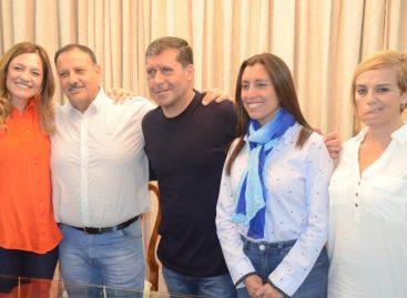 Ricardo Quintela, Tere Madera y Sergio Casas, la lista del Frente de Todos