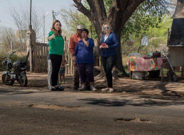Tere Madera tildó el estado de las calles capitalinas de «deplorable»