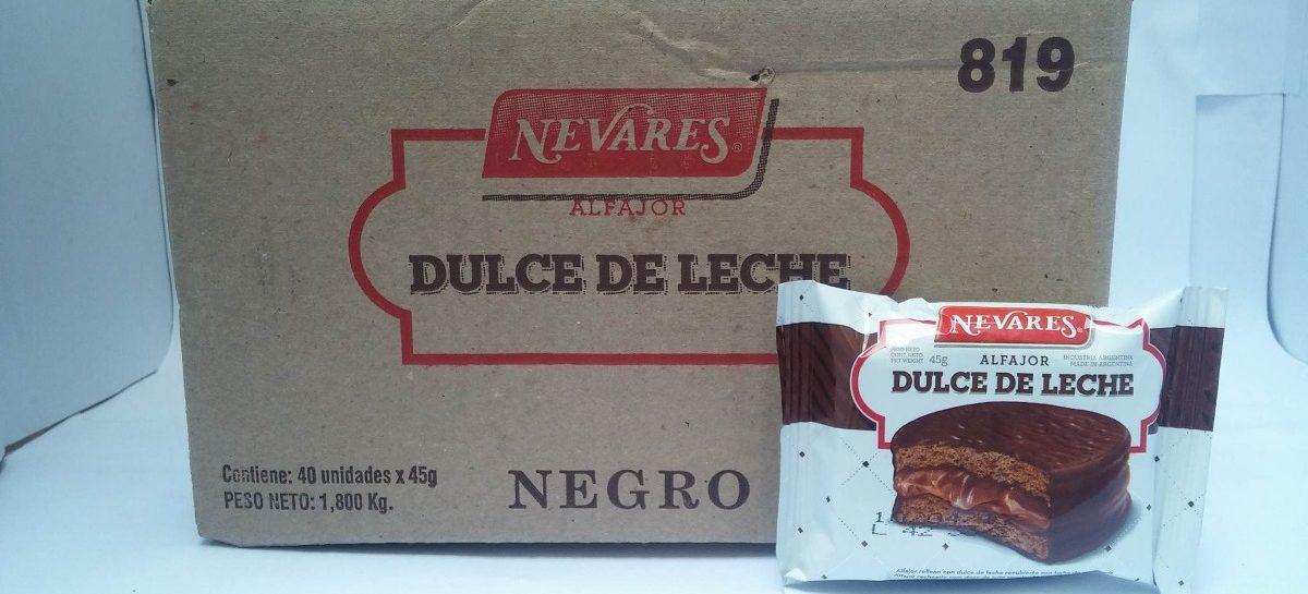 Prohiben venta de alfajores, galletitas, budines y turrones Nevares