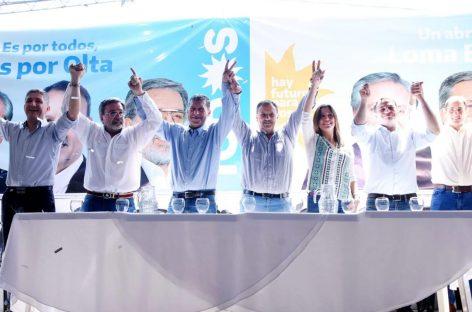 Quintela en campaña en el interior provincial: «transmitimos esperanza»