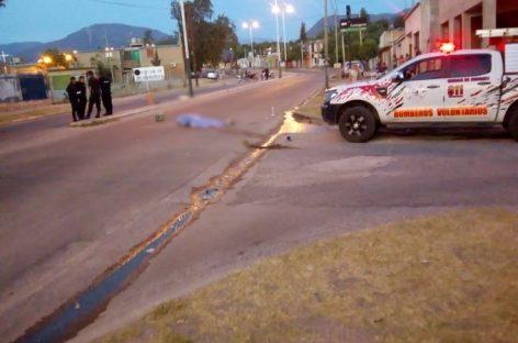 Los accidentes viales se cobraron una nueva vida en Capital