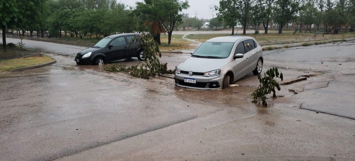 El mal tiempo provocó serios problemas en la Capital