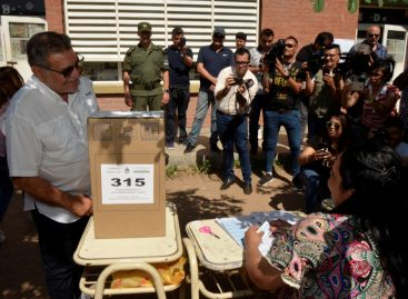 "Beder Herrera se mostró ""optimista"" sobre su performance electoral"