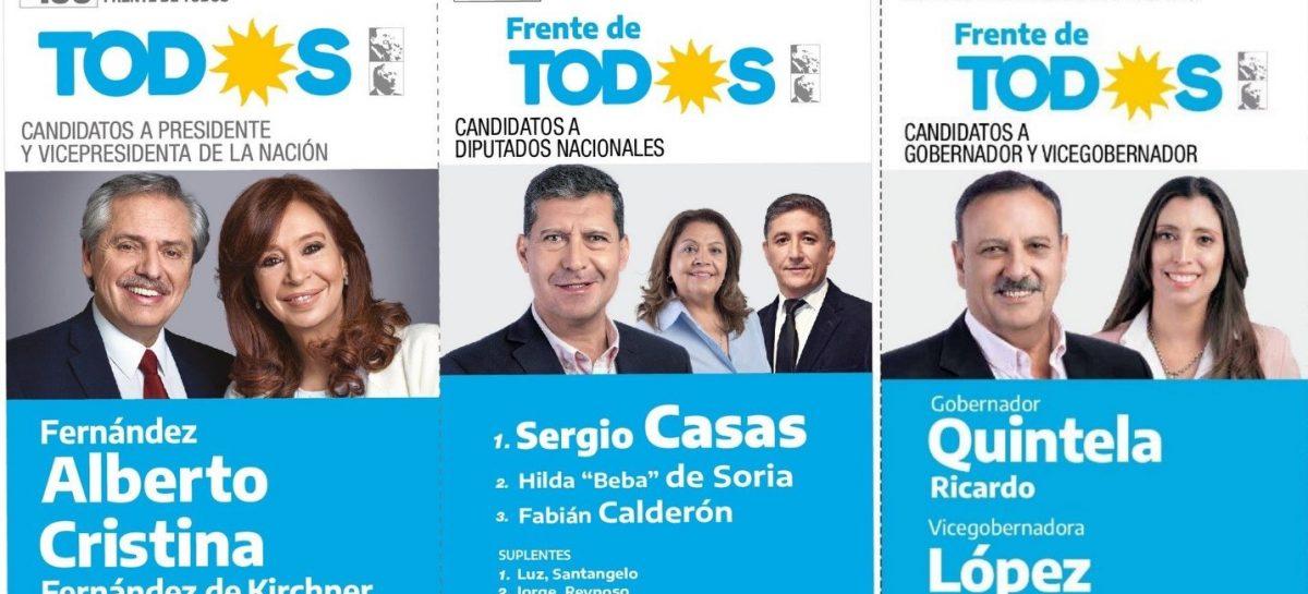La Cámara Nacional Electoral le dio luz verde a la boleta larga en La Rioja