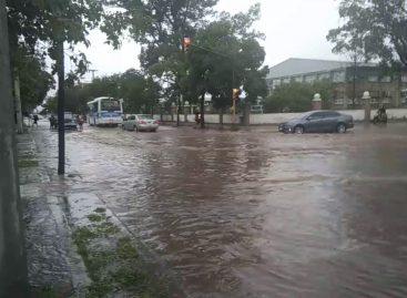 Más de 60 mm de lluvia en territorio capitalino
