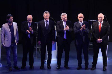 Debate. Frase a frase, chicana a chicana, los cruces de Macri y Alberto