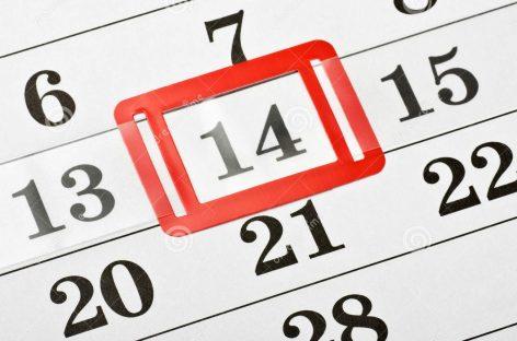 ¿El próximo lunes 14 de octubre es feriado?