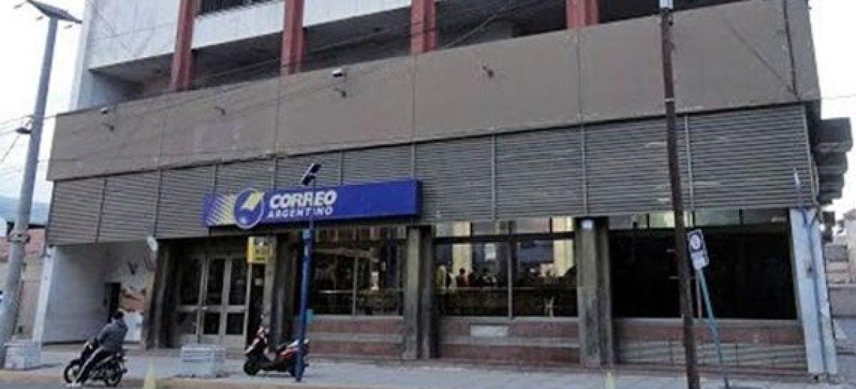 El Correo Argentino no trabajará en el turno tarde por medida gremial