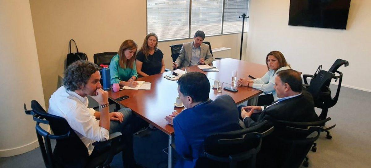2020. Juntos Casas y Quintela buscan más presupuesto nacional para La Rioja