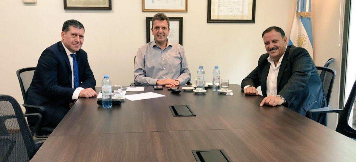 Quintela en Buenos Aires. Reunión con Massa y búsqueda de inversiones