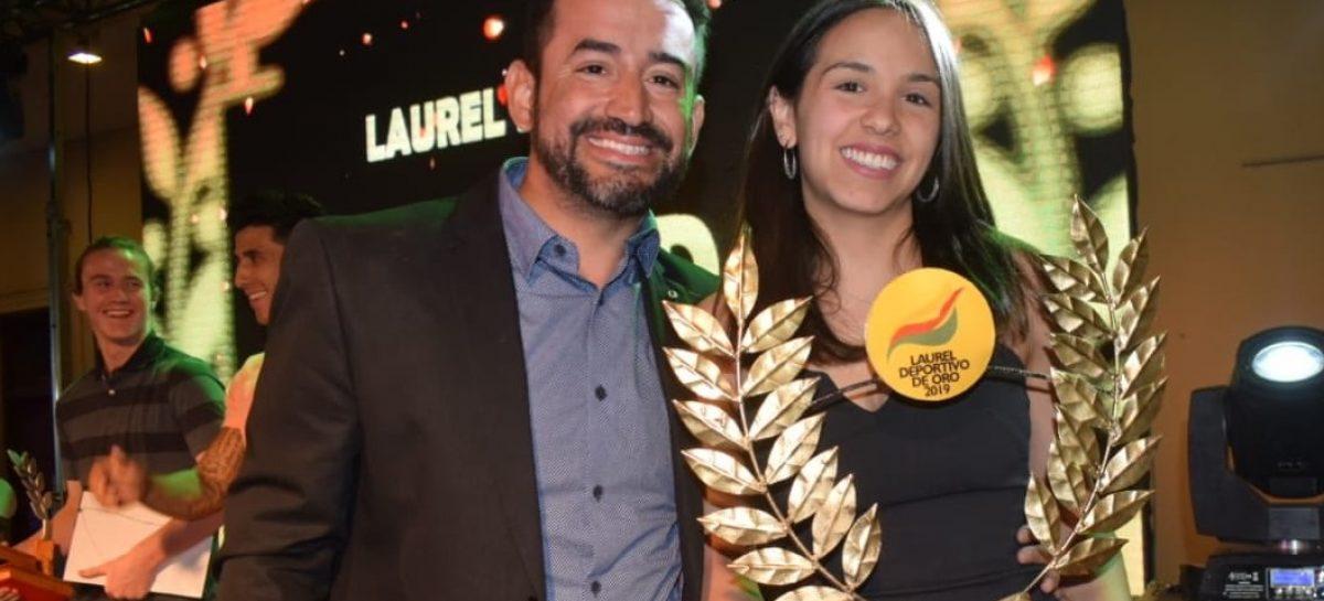 Fernanda Russo se quedó con el Laurel de Oro