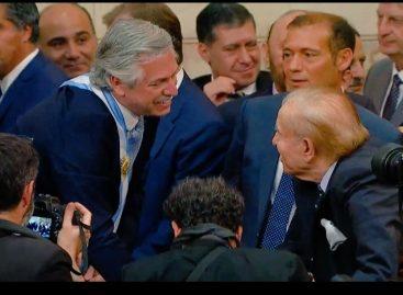 Carlos Menem: «Tengo mucha confianza en Alberto Fernández»