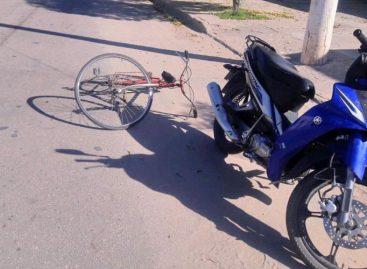 Murió un ciclista en Chamical tras ser embestido por una moto